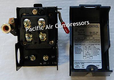 Air Compressor Replacement Pressure Switch. Single Port. 125 Psi