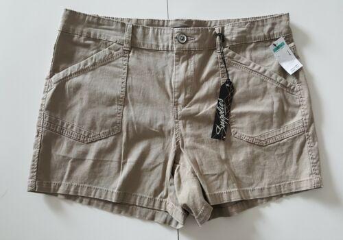 NWT Women's Supplies By Union Bay Khaki Shorts. Size 16