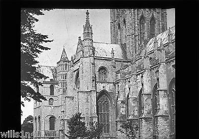 Magic Lantern Slide Canterbury Cathedral England
