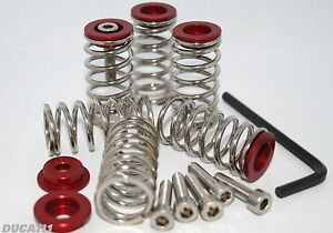 Ducati-1098-1198-stainless-clutch-springs-Alloy-collars-by-CTMOTO