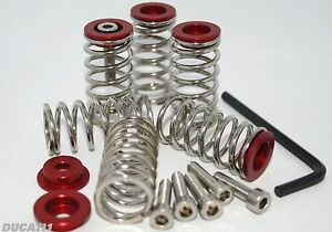Ducati-1098-1198-stainles-clutch-springs-Alloy-collars