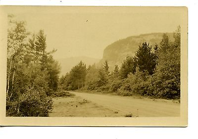 White Horse Ledge-North Conway-New Hampshire-RPPC-Vintage Real Photo Postcard