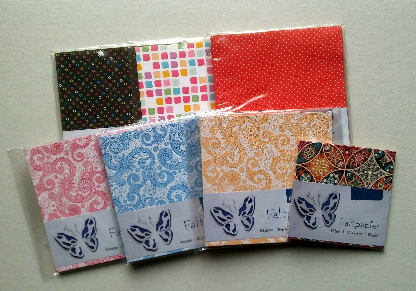 7 Sets Faltpapier Bascetta-Stern Origami Papier (2)
