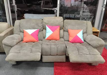 TODAY DELIVERY EXTREMELY COMFORTABLE RECLINER 3 seater sofa