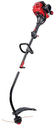 17-in Curved Shaft Gas String Trimmer w/. Attachment and Edg
