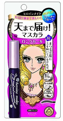 ISEHAN KISS ME Heroine Make Long & Curl Mascar Black 6g WP 2017 New Japan