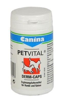 Canina Pharma PETVITAL Derm Caps 40g mit essentiellen Fettsäuren