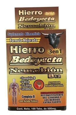 HIERRO BEDOYECTA NEUROBION B12! 500 Mg 100 Tabs Multivitamin 100 Tabs