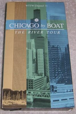Chicago by Boat: The River Tour VHS Video WTTW Channel 11