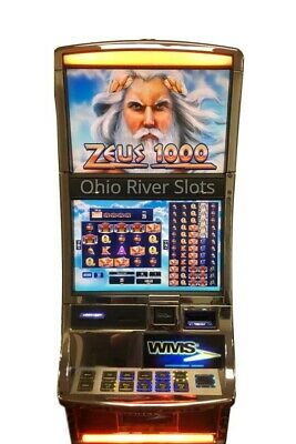 "Williams Bluebird 3 Slot Machine ""Zeus 1000"""