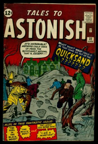 Marvel Comics TALES To ASTONISH #32 Out Of The Quicksand Ditko Art FN 6.0