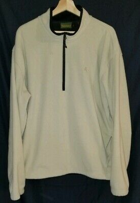 """Timberland Fleece Jacket Men's Size XL 1/2"""" Zip Pullover  for sale  Shipping to India"""