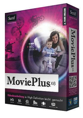 MoviePlus X6 Movie Plus HD Videos erstellen iPod Facebook + Driver Genius 12 CD online kaufen