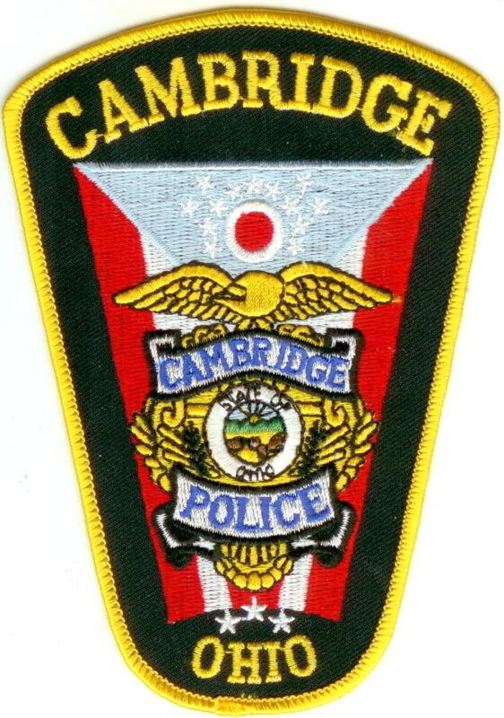 Cambridge Police Ohio patch NEW