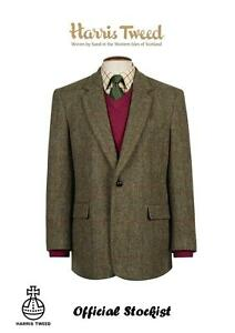 HARRIS-TWEED-Taransay-Classic-Jacket-Official-Stockist-Virgin-wool-All-Sizes