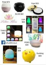 Diffusers, Essential oils, Jewellery, Humidifiers & Salt Lamps Mount Pleasant Melville Area Preview