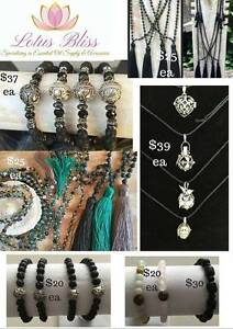 Selection of jewellery with lava silver & crystals inc Lava Links Mount Pleasant Melville Area Preview