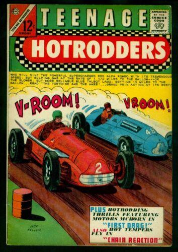 Charlton Comics TEENAGE HOTRODDERS #11 FN 6.0