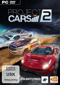 Project CARS 2 PC Steam Key *NEU* Rennspiel Motorsport Autos Bandai Namco VR