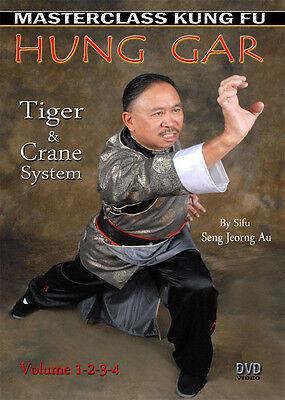 Masterclass Kung Fu Hung Gar - Tiger & Crane System DVD - Volumes 1, 2, 3 & 4