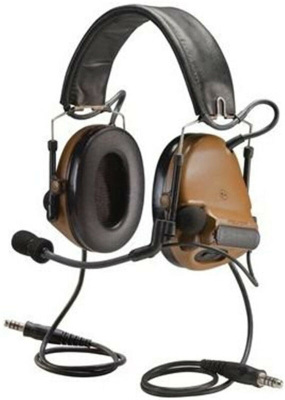 COMTAC III /C3 Tactical Noise Reduction Headset For TCA TRI /Real Mil-Spec PTT