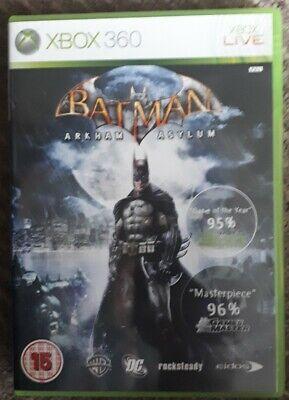 BATMAN ARKHAM ASYLUM, Xbox 360 GAME, !!!!! TAKE A LOOK !!!!! for sale  Shipping to Nigeria