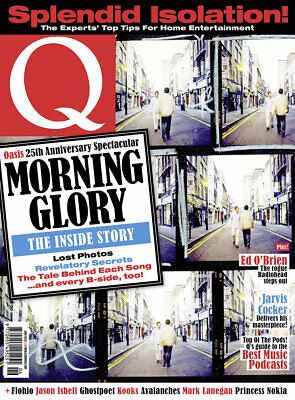 Q MAGAZINE JUNE 2020 (OASIS: MORNING GLORY SPECIAL, JARVIS COCKER, JASON ISBELL)