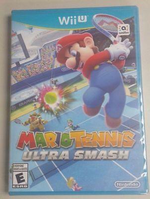 Mario Tennis Ultra Smash (Wii U) Brand New