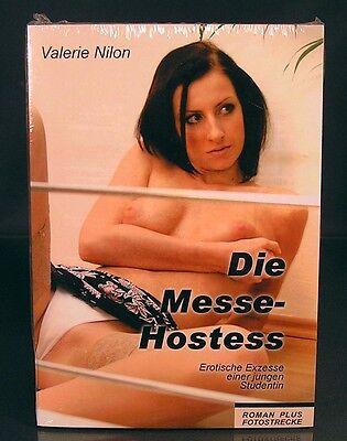Die Messe-Hostess - Erotik-Buch mit Fotos - Roman von Valerie Nilon OVP NEU