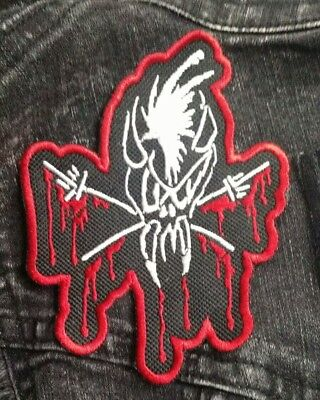 Metallica Patch SCARY GUY Smaller patch skull NEW USA SELLER FAST DELIVERY