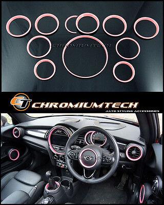 MINI Cooper/S/ONE F55 F56 F57 PINK Interior Trim Kit for model w/Navigation XL