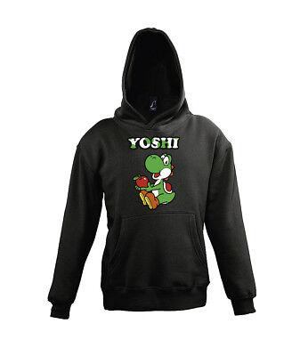 TRVPPY Kinder Baby Hoodie Sweater Modell Yoshi Mario Super Luigi Bowser Peach