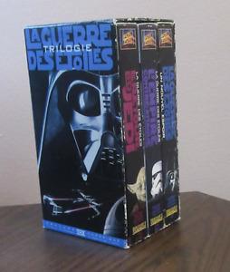 La guerre des etoiles trilogie vhs (Star Wars)