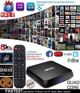 M8s Media Player XBMC KODI Full Loaded Quad Core Android Smart TV Dandenong Greater Dandenong Preview