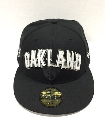 NEW ERA 5950 NFL FITTED CAP OAKLAND RAIDERS DRAFT (Raiders Draft Cap)