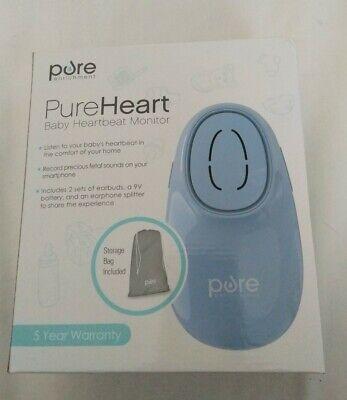 Bnib Sealed Pureheart Baby Fetal Heartbeat Monitor To Smartphone Model Pefetdpl