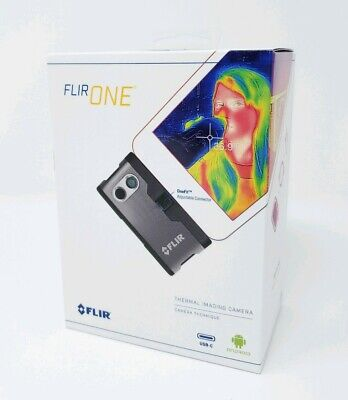 New Flir One Thermal Imaging Camera For Android Usb-c Gen 3 Ghost Hunting