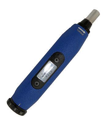 Torque Screw Driver-micro-adjustable By 1in.oz 20 - 100in.oz Range Cdi 61sm