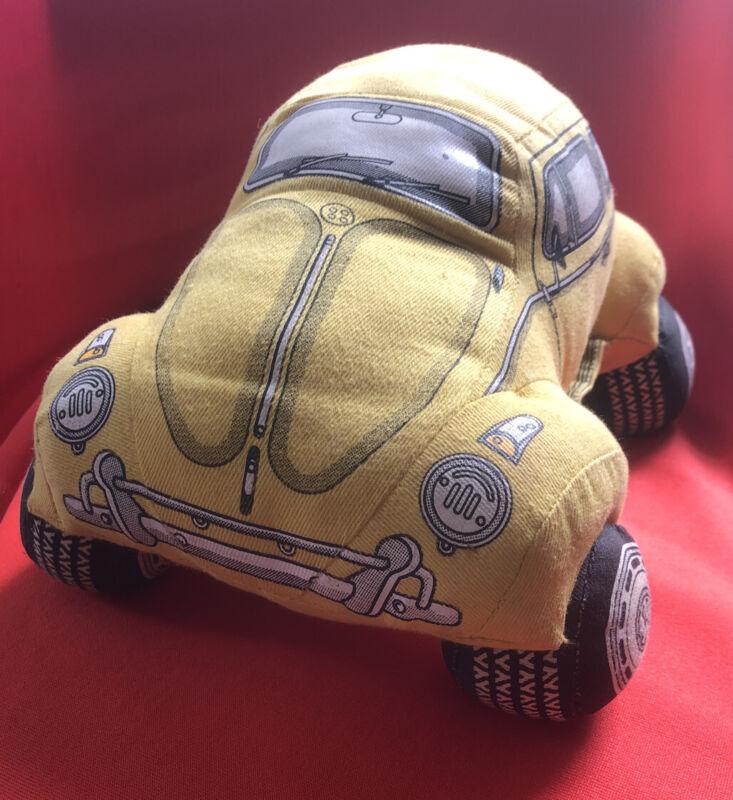 1985 R&J Dreamwheels Volkswagen Beetle Bug Pillow