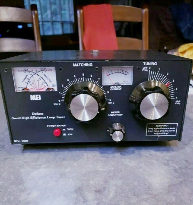 Ham Radio High Efficiency Transmitting Loop Tuner