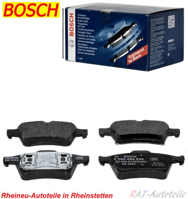 Bremsbeläge BOSCH SATZ-HA-FORD TOURNEO CONNECT TRANSIT CONNECT P65 P70 P80