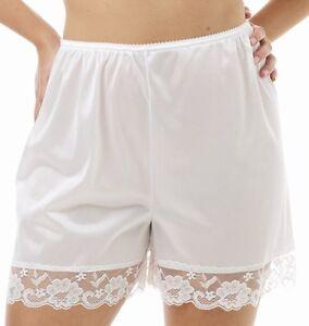 Pettipants-Half-Slip-Petti-Pants-18-Long-Size-2X-White