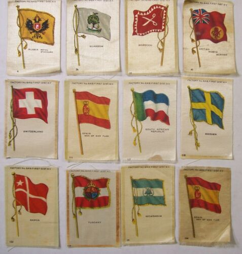 TOBACCO SILK LOT NO. 8 FLAGS GROUP 2