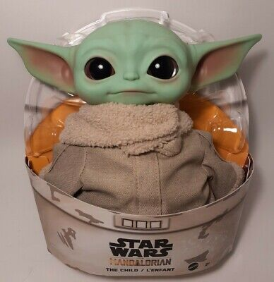 Star Wars The Child Plush Toy, 11-inch Baby Yoda from The Mandalorian 2020