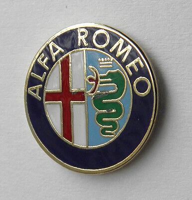 ALFA ROMEO EMBLEM AUTOMOBILE CLASSIC CAR LAPEL PIN BADGE 3/4 INCH