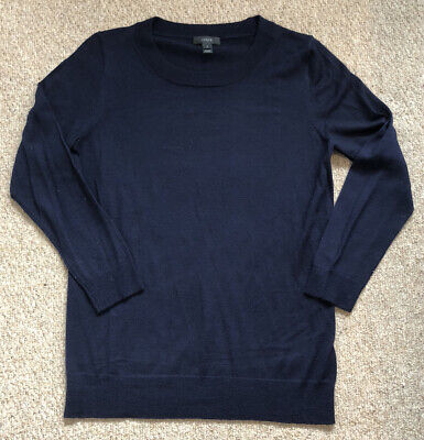 J. Crew Navy Tippi Sweater Size Small