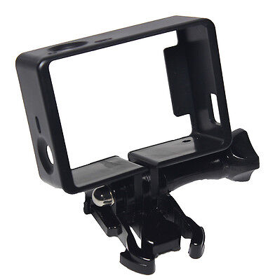 For GoPro Hero 4  3 2 Accessories Frame Mount Protective Housing Camera Case