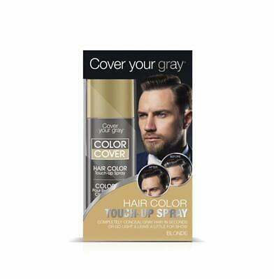 Cover Your Gray for Men Color Cover Hair Color Touchup Spray - Blonde (2-PACK)](Color Spray For Hair)