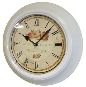 Style ancienne horloge pendule de gare restaurant bar - Horloge murale style gare ...