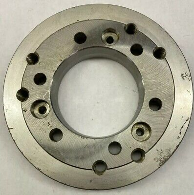 Chuck Collet Adapter Plate Steel Body Lathe Unbranded Machinist Metalworking Cnc